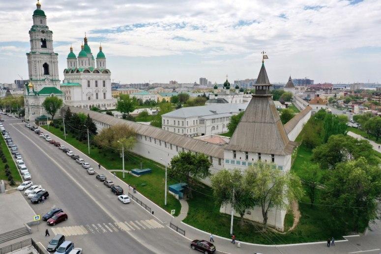 Достопримечательности Поволжья: Астраханский кремль