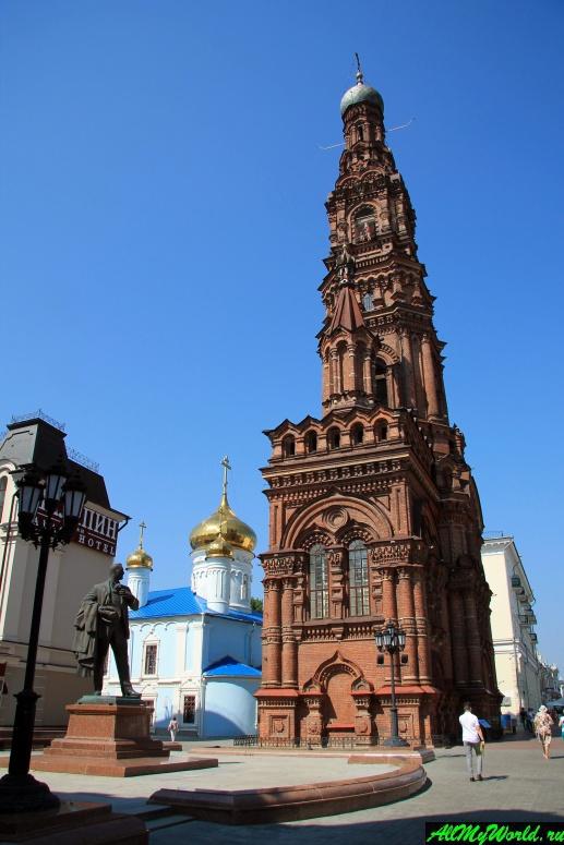 Достопримечательности Поволжья: колокольня Богоявленской церкви