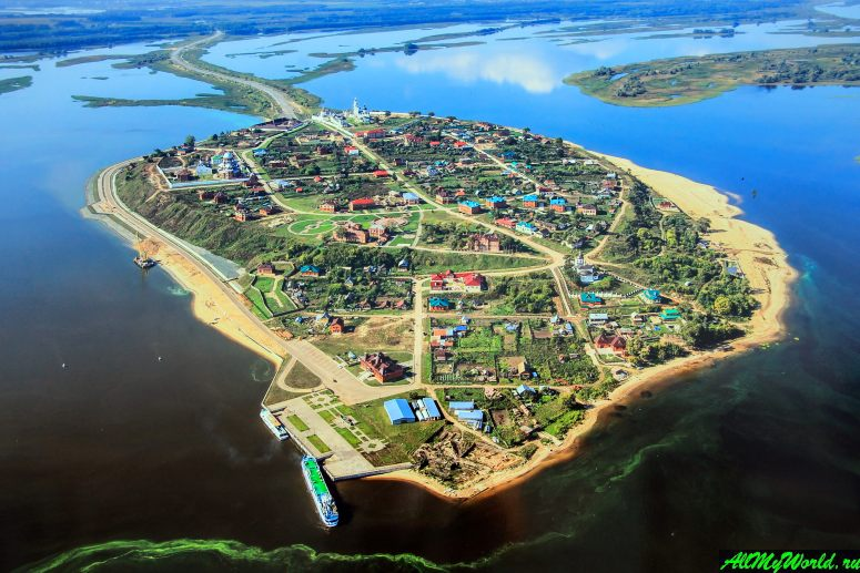 Достопримечательности Поволжья: Остров-град Свияжск