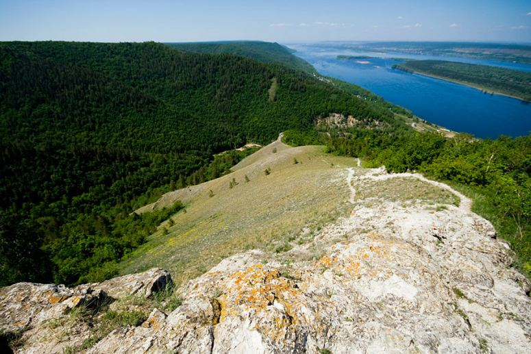 Достопримечательности Поволжья: Жигулевские горы