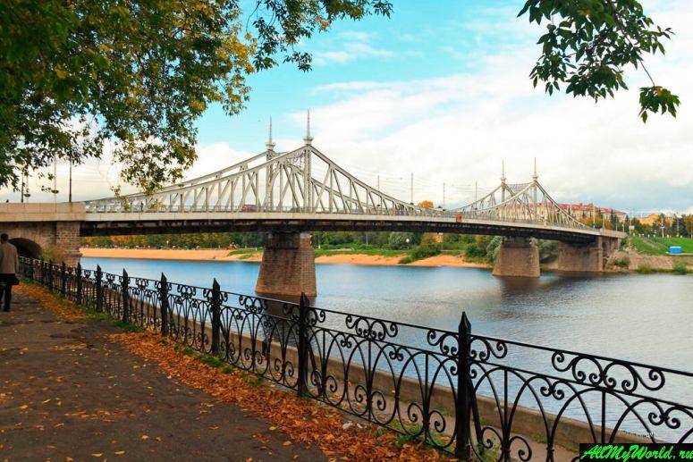 Достопримечательности Поволжья: Староволжский мост в Твери
