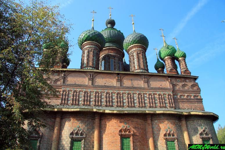 Достопримечательности Поволжья: Церковь Иоанна Предтечи в Толчкове, Ярославль