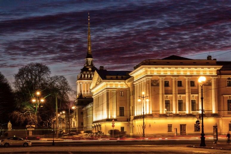 Санкт-Петербург, достопримечательности Невского проспекта: Адмиралтейство