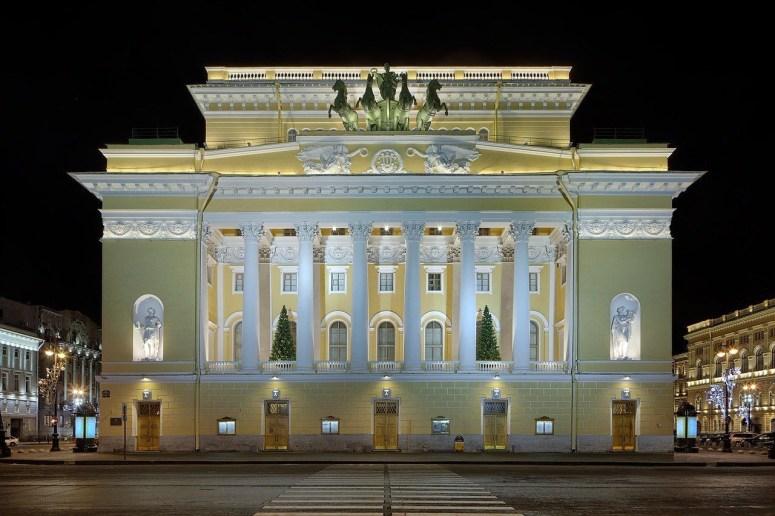 Санкт-Петербург, достопримечательности Невского проспекта: Александринский театр