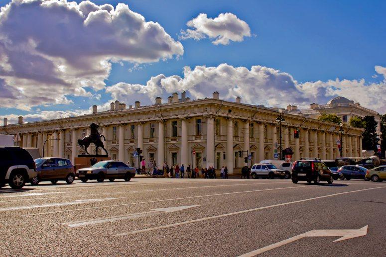 Санкт-Петербург, достопримечательности Невского проспекта: Аничков дворец