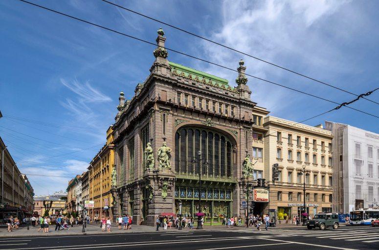 Санкт-Петербург, достопримечательности Невского проспекта: Торговый дом братьев Елисеевых
