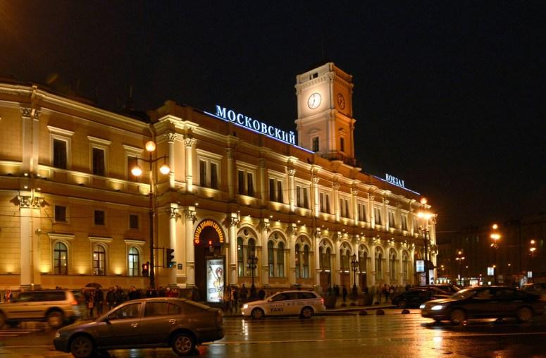 Санкт-Петербург, достопримечательности Невского проспекта: Московский вокзал