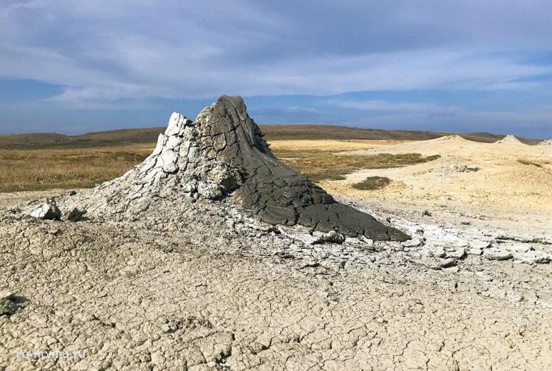 Достопримечательности Керчи: Булганакские грязевые вулканы