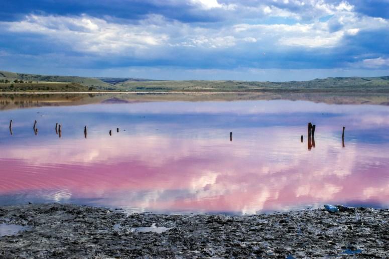 Достопримечательности Керчи: Чокракское озеро