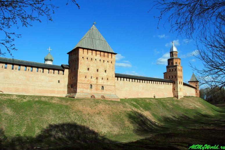 Достопримечательности Великого Новгорода: Новгородский детинец (кремль)