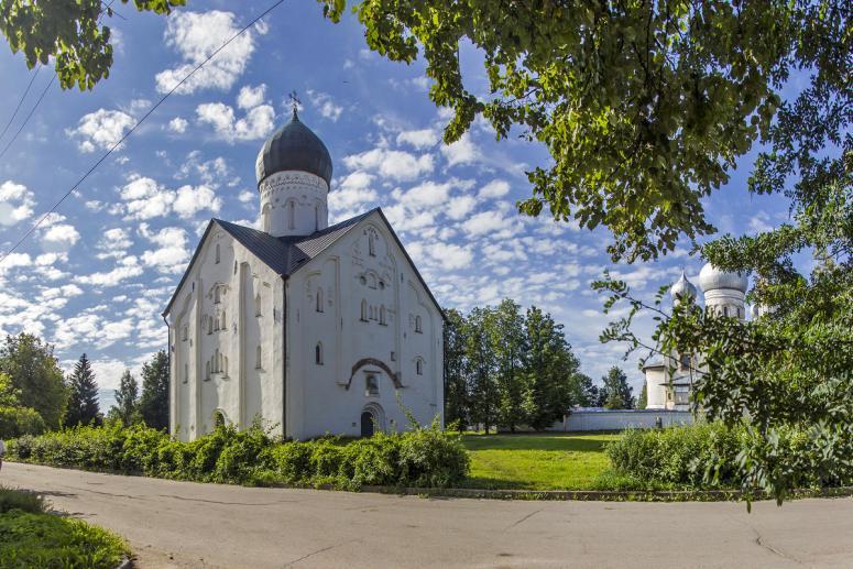 Достопримечательности Великого Новгорода: Церковь Спаса Преображения