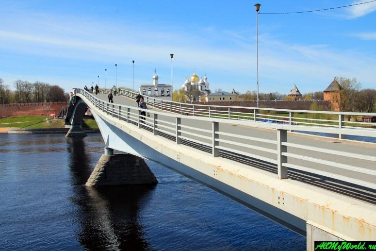 Достопримечательности Великого Новгорода: Великий мост через Волхов