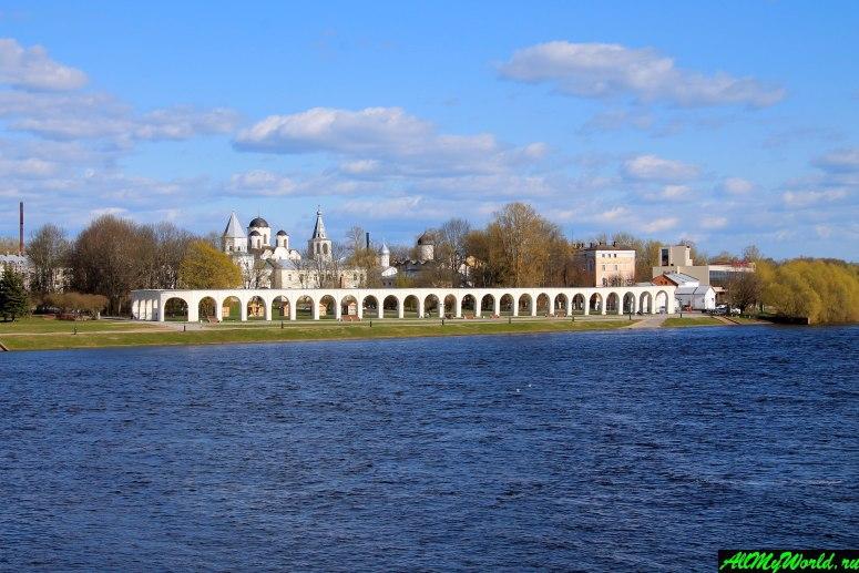 Достопримечательности Великого Новгорода: Ярославово дворище и Древний торг