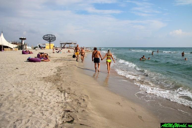 Крым, пляж Казантип (Поповка)