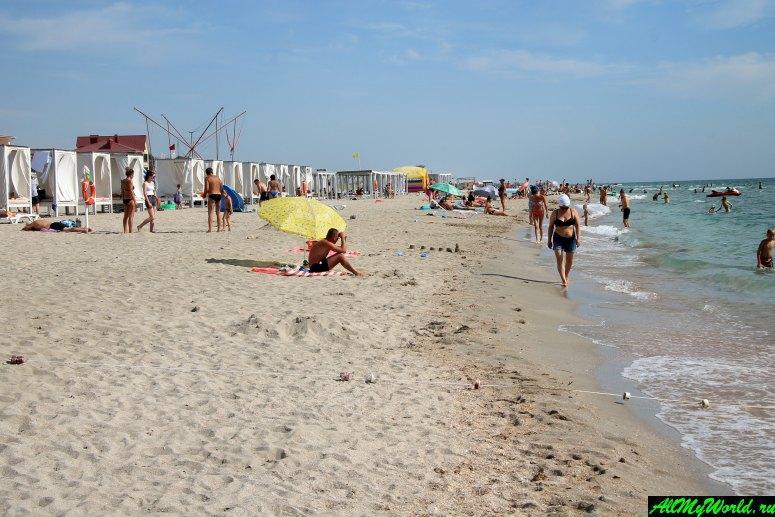 Крым, пляж в Поповке