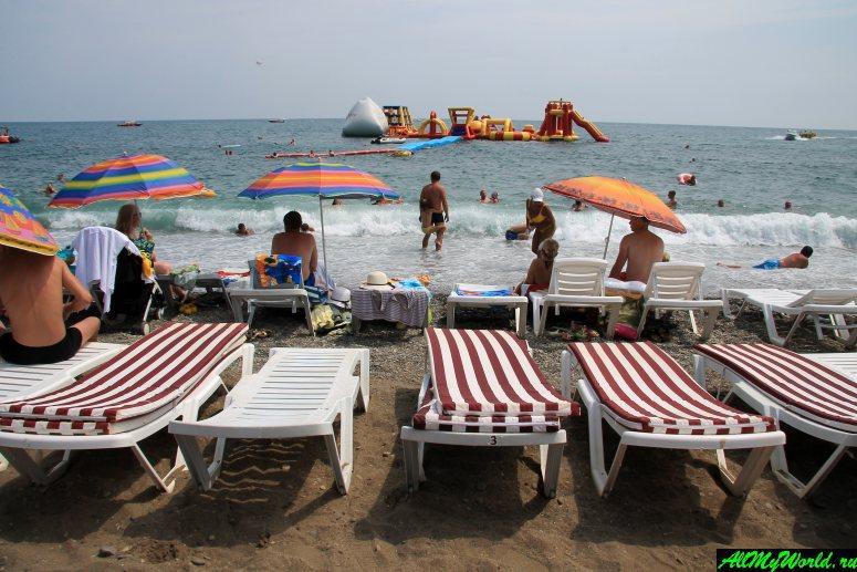 Лучшие пляжи Крыма: Центральный (Городской пляж) Алушты