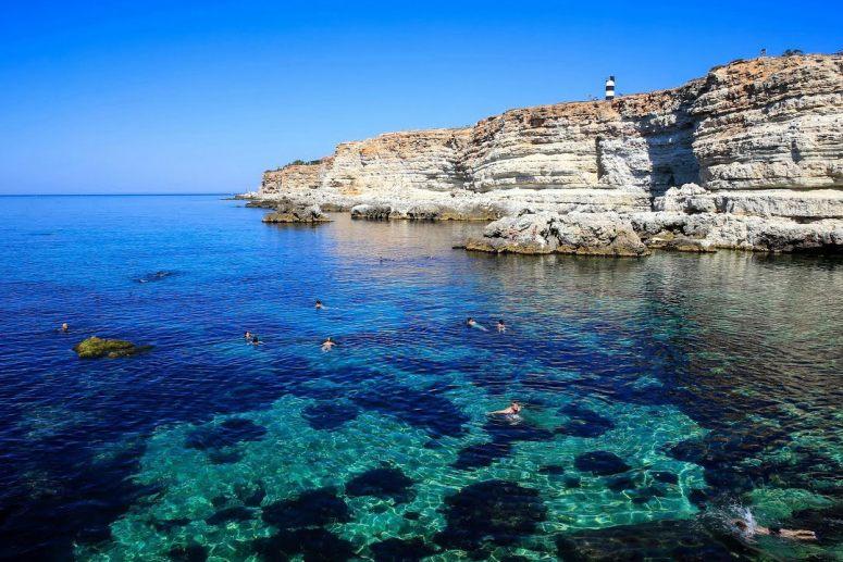 Лучшие пляжи Крыма: Пляжи в Казачьей бухте (Севастополь)