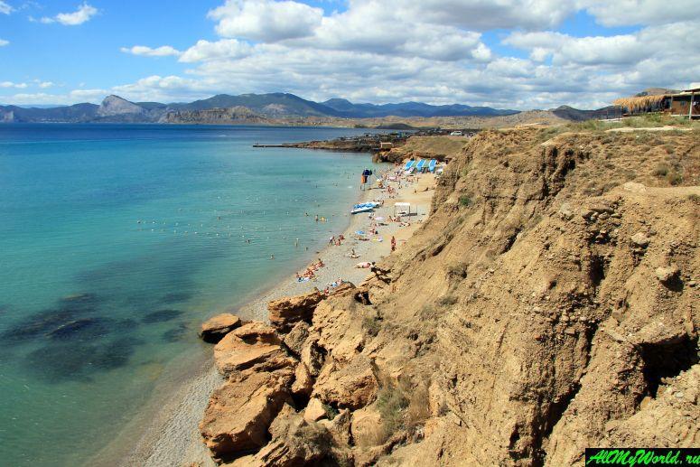 Лучшие пляжи Крыма: пляж на мысе Меганом