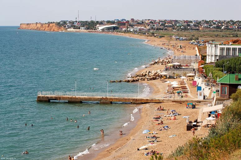 Лучшие пляжи Крыма: Пляжи Орловки