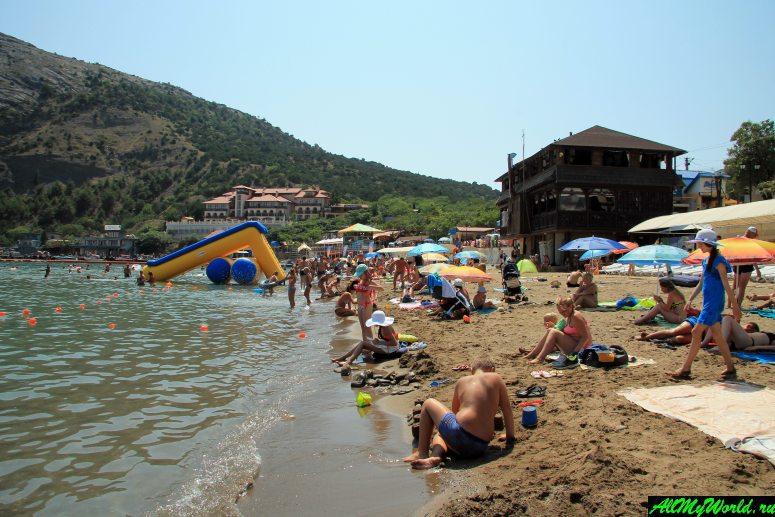 Лучшие пляжи Крыма: пляж поселка Новый Свет (Зеленая бухта)