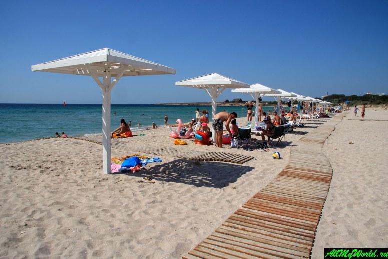 Лучшие пляжи Крыма: Пляж в Оленевке (мыс Тарханкут)