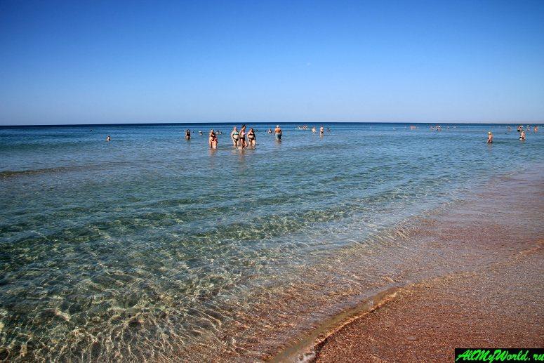 Лучшие пляжи Крыма: пляж поселка Поповка
