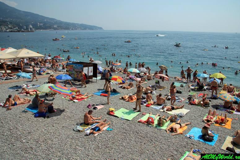 Лучшие пляжи Крыма: Приморский (Городской) пляж Ялты
