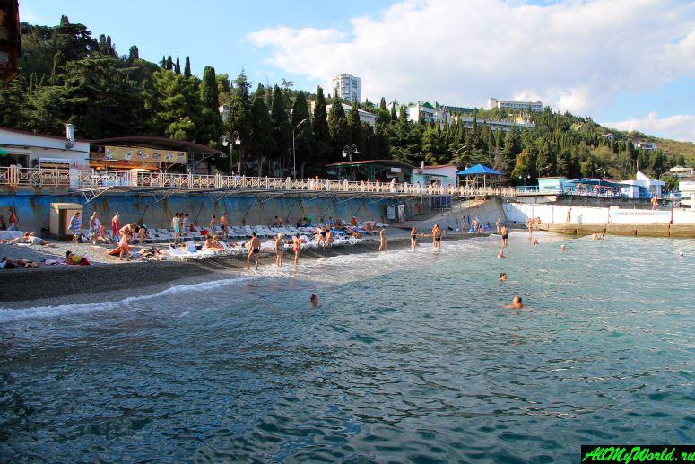 Лучшие пляжи Крыма: Профессорский уголок, Алушта