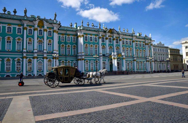 "Санкт-Петербург, ""Золотой треугольник"": Зимний дворец"