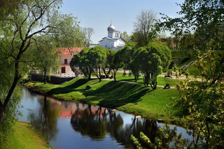 Достопримечательности Пскова: Финский парк Куопио