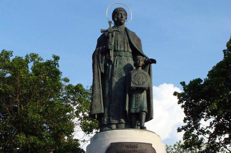 Достопримечательности Пскова: Памятник княгине Ольге