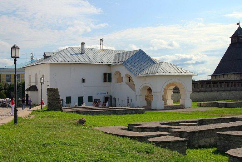 Достопримечательности Пскова: Приказные палаты