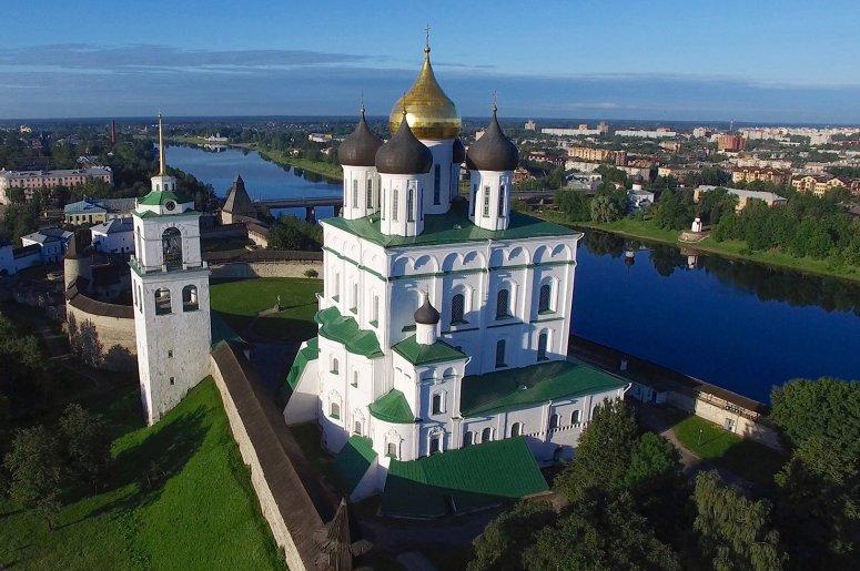 Достопримечательности Пскова: Свято-Троицкий кафедральный собор