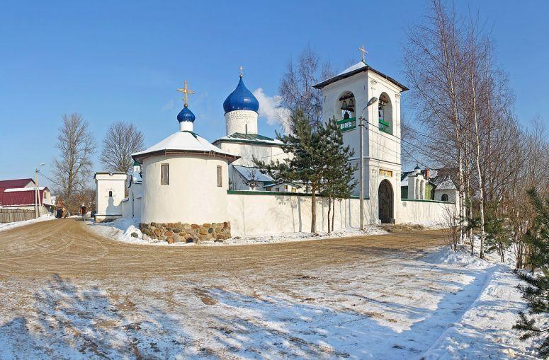 Достопримечательности Пскова: Церковь Елены и Константина