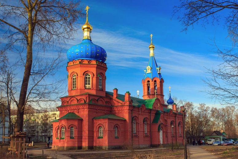 Достопримечательности Пскова: Церковь Святого Александра Невского