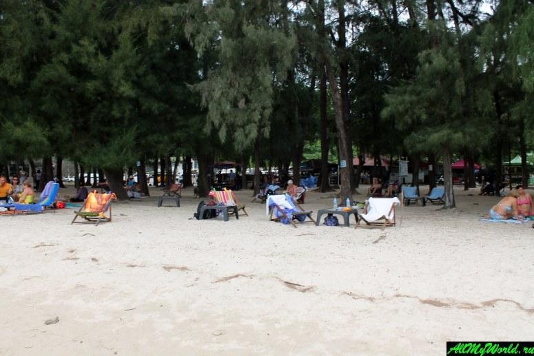 Паттайя, пляж Нанг Рам
