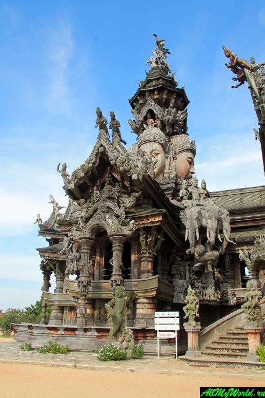Храм Истины (Храм всех религий) – самый необычный храм в Паттайе