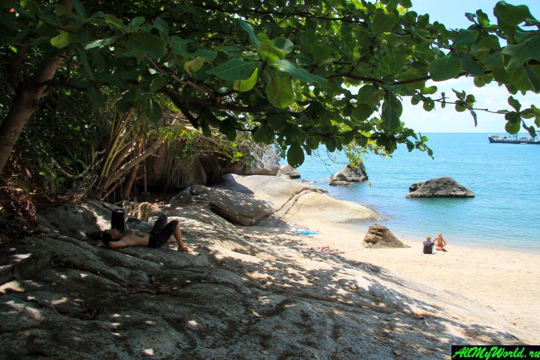 Пляж Хаад Тхан Садет - один из самых уютных на Пангане