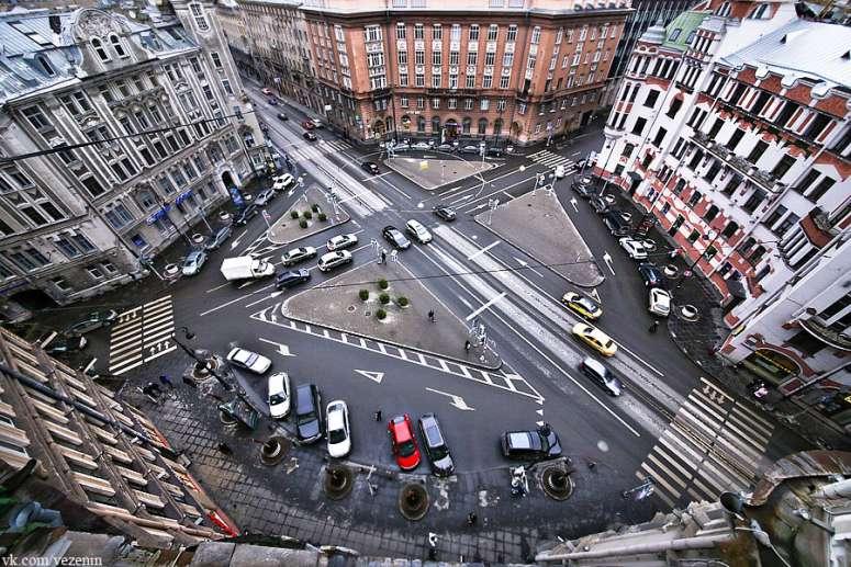 Санкт-Петербург, Петроградская сторона - Австрийская площадь