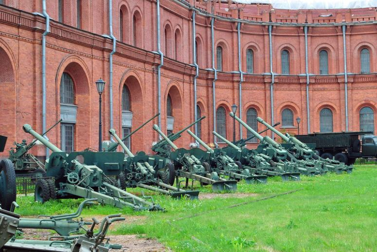Санкт-Петербург, Петроградская сторона - Музей артиллерии