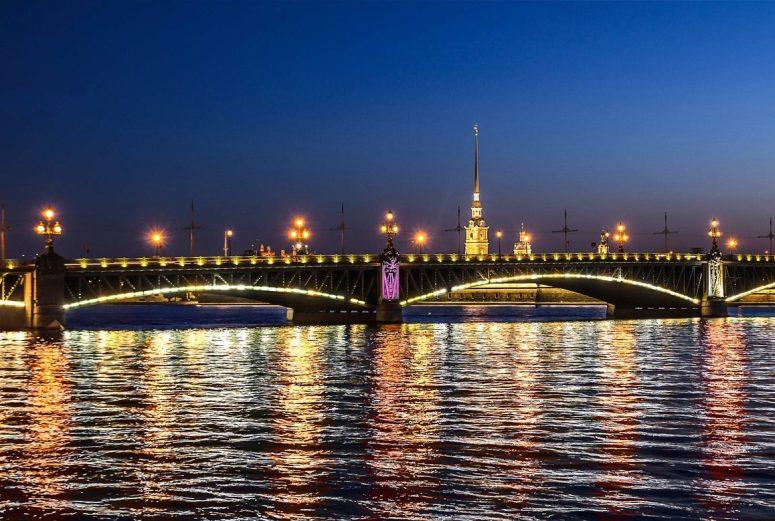 Санкт-Петербург, Петроградская сторона - Троицкий мост