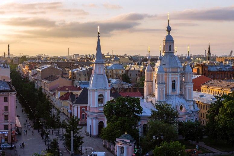 Санкт-Петербург, достопримечательности Васильевского острова: Андреевский собор