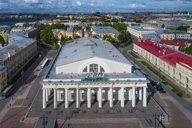 Санкт-Петербург, достопримечательности Васильевского острова: Биржа