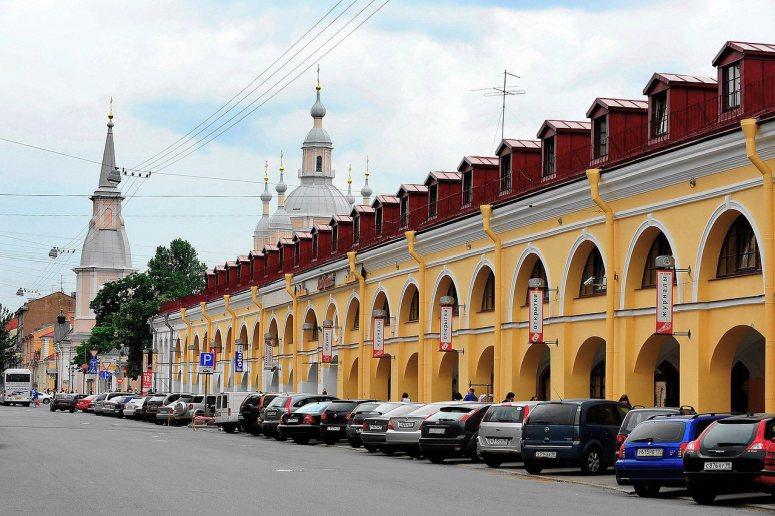 Санкт-Петербург, достопримечательности Васильевского острова: Андреевский рынок