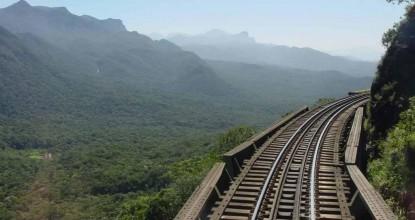 Бразилия: туристический поезд Serra Verde Express (Куритиба-Морретес-Куритиба)