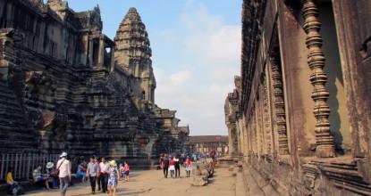 Археологическая зона Ангкор: Ангкор-ват и Байон