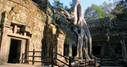 Достопримечательности Камбоджи: Ангкор (продолжение)