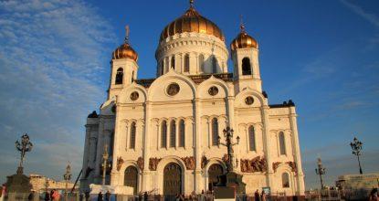 Прогулки по Москве: от Манежной площади до храма Христа Спасителя