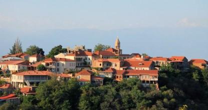 Грузия, Алазанская долина: Сигнахи (Сигнаги) и монастырь святой Нино в Бодбе