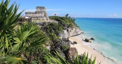 Мексика, древние города майя: Тулум и Коба